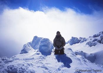新たな旅へ 冬の鳥海山にて